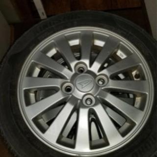 ダイハツ純正ホイール、タイヤ付き4本セット - 車のパーツ