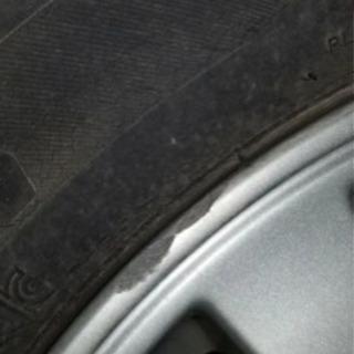 ダイハツ純正ホイール、タイヤ付き4本セット - 南相馬市