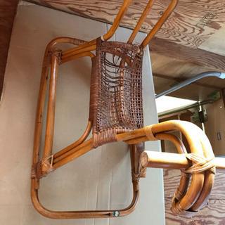 アンティーク藤製の木馬❣️