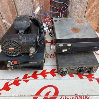 値下げ、無線機4台セット