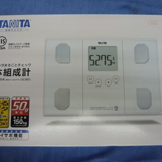 新品☆未開封 タニタ TANITA 体重 体組成計 BC-314...
