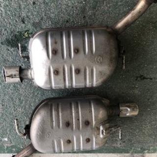 H24 MPV LY3P リアマフラー