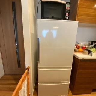 【美品】AQUA アクア 3ドア 冷凍冷蔵庫