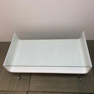 ガラステーブル センターテーブル ローテーブル リビングテーブル...
