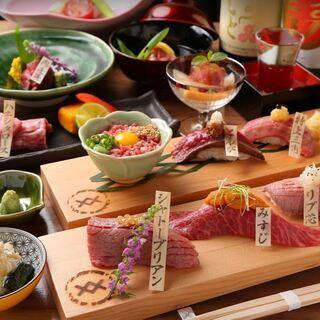 松阪牛肉寿司専門店【おにくのおすし 京都祇園店】