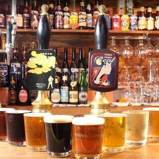 【ALE HOUSE 加美屋】世界各国のビール約60種