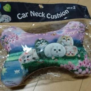 Henry Cats & Friends ☆カーネック☆クッション☆枕