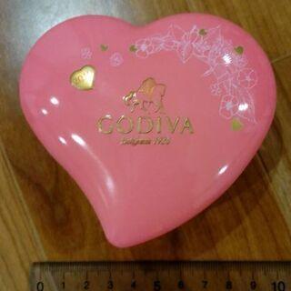 【メルカリ出品有】ゴディバチョコレート空き缶