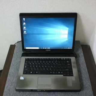 (代引可能)WIN10 TOSHIBA dynabook  T43 220C/5Wの画像