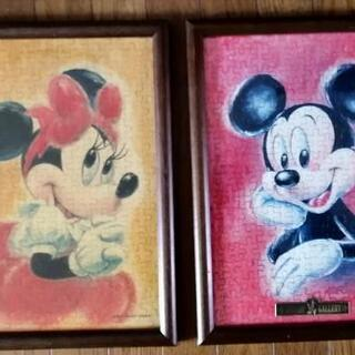 素敵なミッキーとミニーの肖像画