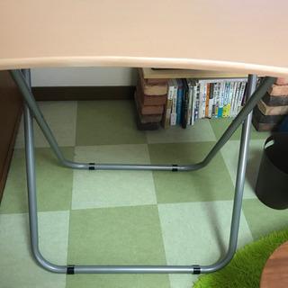 【美品】折りたたみテーブルの画像