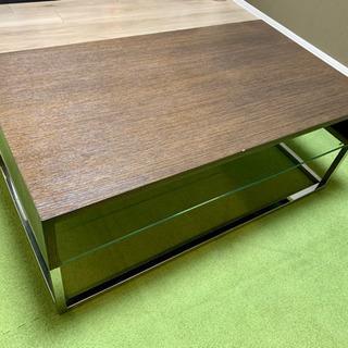 美品!重厚感ある高級ローテーブル