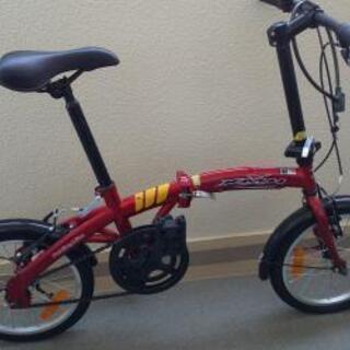室内保管 折りたたみ式自転車   取りに来られる方に