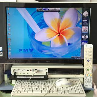 TV一体型ウィンドウズパソコン:22インチ録画機能付き