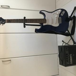 ギターとアンプのセット(商談中)