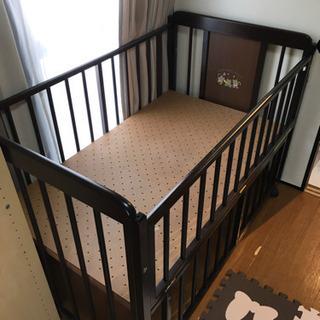 【お取り引き中です】ベビーベッド 赤ちゃん ベッド ベビー用品 ...
