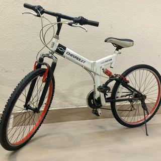 シボレーWサスペンションマウンテンバイク