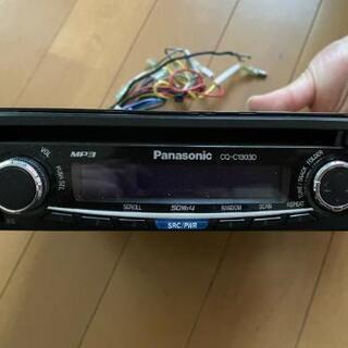 ☆Panasonic パナソニック 1DIN CDカーオーディオ...