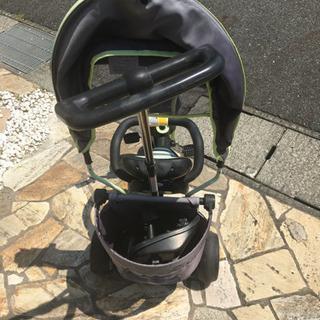 補助ハンドル付き三輪車