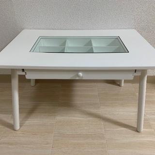 ローテーブル サイドテーブル ホワイト salut!