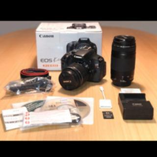 【美品】Canon EOS Kiss X5 レンズ2本
