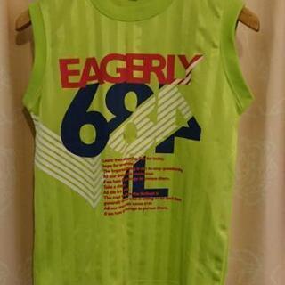 子供服 150 ノースリーブ スポーツ等に 黄緑系
