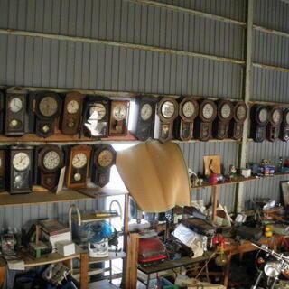 収集した昔の柱時計をお嫁に出します。