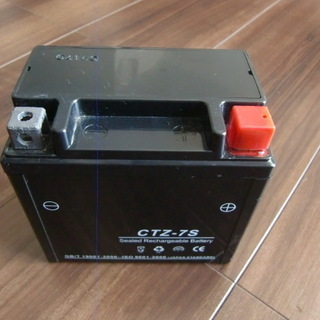 YUASA YTZ-7S互換 バッテリー「CTZ-7S」