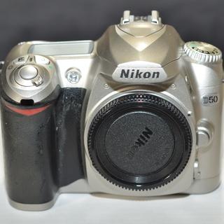 ニコン NIKONのデジタル一眼レフカメラ D50 レンズ2本セット