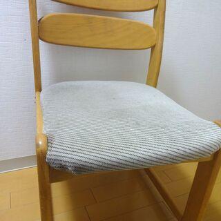 ■ダイニングチェア 椅子 イス チェアー 食卓 いす 木製 布