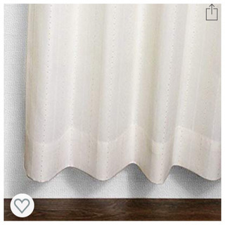 新品☆ドレープカーテン 幅100x丈200cm 2枚