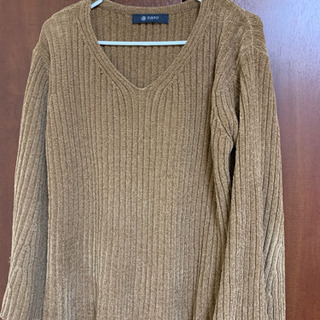 【nanoナノ】茶色のセーター