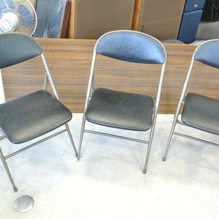 レトロでオシャレなパイプ椅子 1点800円 3脚 イス チェア ...