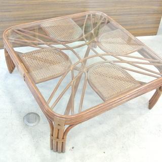 アジアンテイスト テーブル ガラス