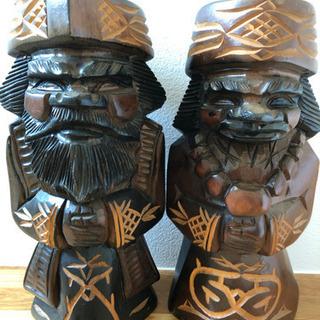 民芸品 北海道 アイヌ ニポポ 木彫り 置物