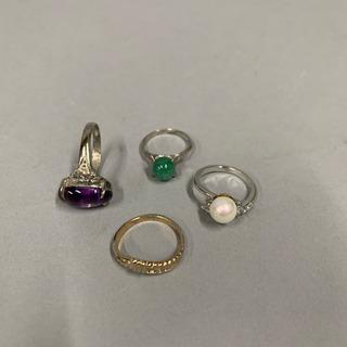 指輪 4種 お売りします。