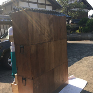 木製、アンティーク家具 箪笥 ※配達可能 − 京都府