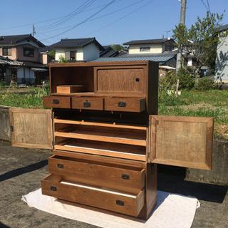 木製、アンティーク家具 箪笥 ※配達可能 - 家具