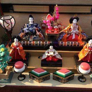 人形の久月 ひな人形 あげます。 山形駅 近郊 無料配送可能です。