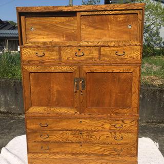 木製 アンティーク家具 箪笥 ※配達可能