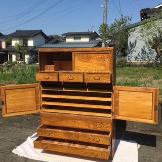 木製 アンティーク家具 箪笥 ※配達可能 - 家具