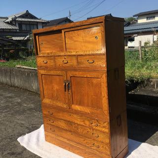 木製 アンティーク家具 箪笥 ※配達可能 - 福知山市
