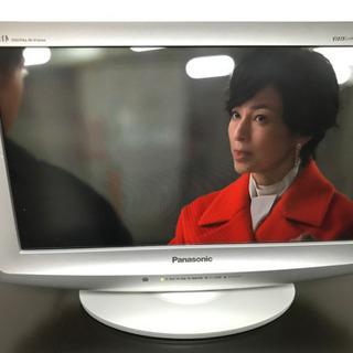 パナソニック 17型地デジ液晶テレビ TH-L17C1 白