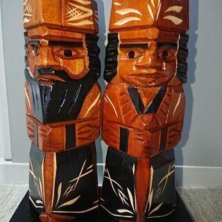 アイヌ 木彫り人形 民芸品