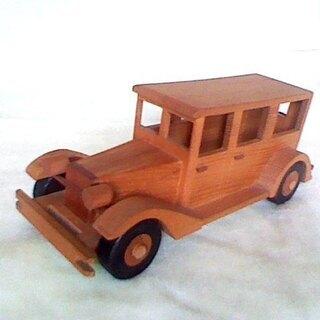 お得! 美品 自動車 木工製品 天然木製 展示品 CAR カー ...