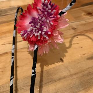 お花付きハンガー