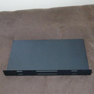 無印良品 システムデスク用デスクパーティション (黒)