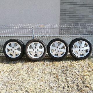 165/55R14 夏タイヤ 17年製造 バリ溝