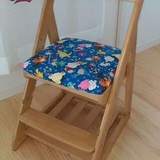 児童 子ども用 学習椅子 ポケモン ポケットモンスター