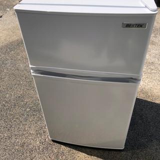 【2018年製】ベステック BESTEK 冷凍冷蔵庫 直冷式 85L 右開き BTMF211 - 相模原市